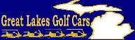 Great Lakes Golf Cars logo - Sister Store to Michigan Tournament Fleet