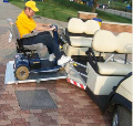 wheelchair Accessible golf car